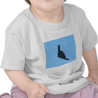 Bombardeiro do discrição camisetas