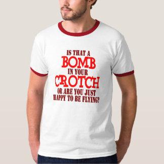 Bombardeiro do gancho camisetas