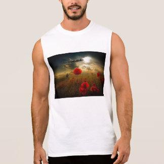 Bombardeiro respeitoso de Vulcan Camisetas Sem Manga