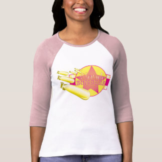 Bombardeiros louros tshirts