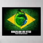 Bombas de Jiu Jitsu do brasileiro através de meu p Poster