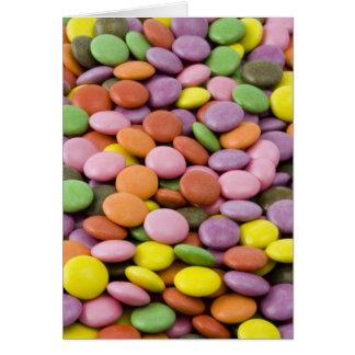 Bombons doces de Colourised Cartões