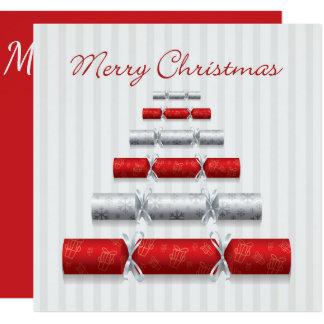 Bombons elegantes do Natal Convite Quadrado 13.35 X 13.35cm