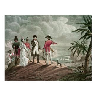Bonaparte em St Helena Cartão Postal