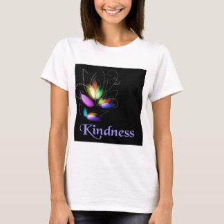 Bondade floral camiseta