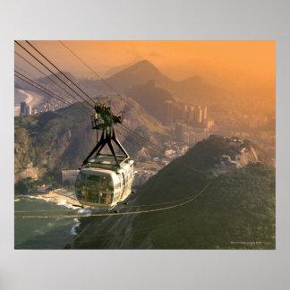 Bonde em Rio de Janeiro, Brasil Posters