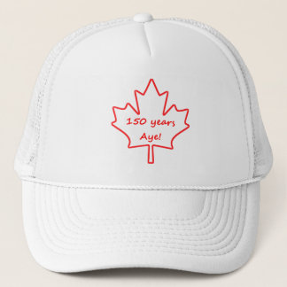 Boné 150 anos de Canadá