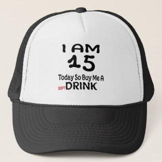 Boné 15 hoje compre-me assim uma bebida