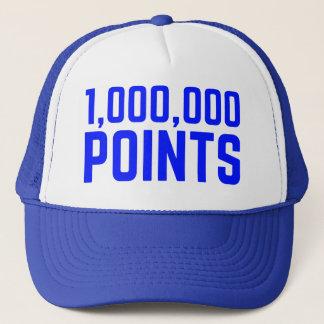 Boné 1.000.000 do divertimento do slogan PONTOS do
