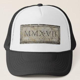 Boné 2017 MMXVII antigos