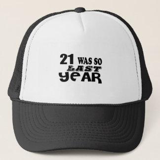Boné 21 era assim tão no ano passado o design do