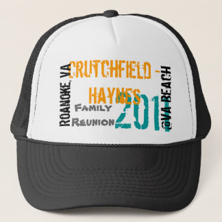 Boné 2-2011 Crutchfield - Haynes - chapéu da reunião