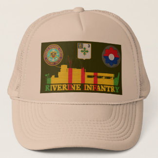 Boné 3/47th Inf. Barco do tango do ATC & chapéu dos