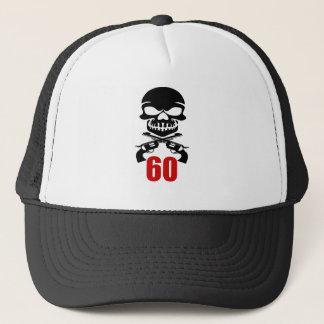 Boné 60 designs do aniversário