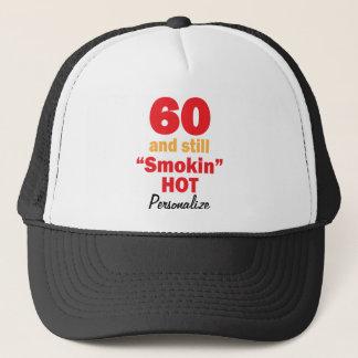 Boné 60 e ainda nome quente do aniversário | DIY de