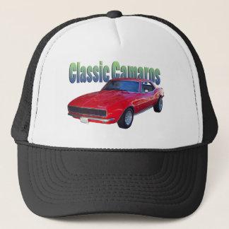 Boné 68' chapéu da malha de Camaro