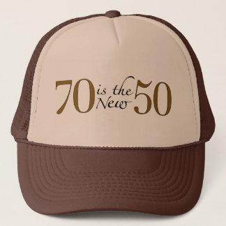 Boné 70 são os 50 novos
