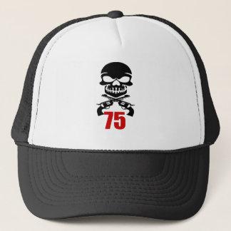 Boné 75 designs do aniversário