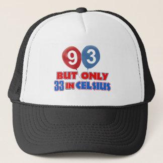 Boné 93rd festa de aniversário do ano