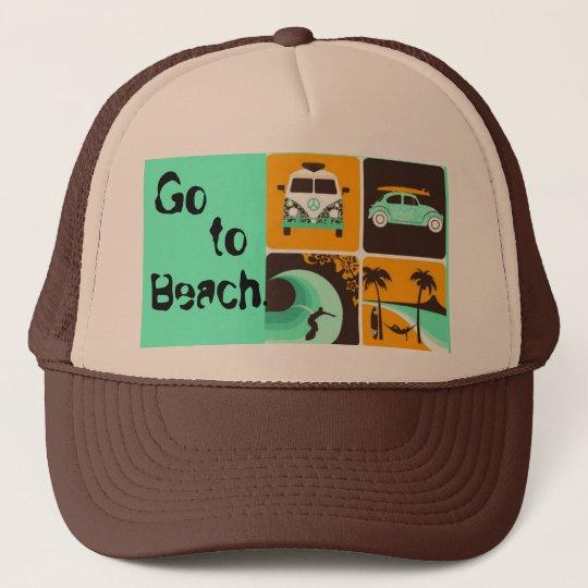Boné 964206652, Go , to, Beach.