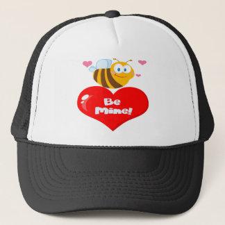 Boné A abelha bonito que guardara dizer do coração seja