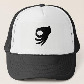 Boné A aprovação de cabeça para baixo fez-lhe o chapéu