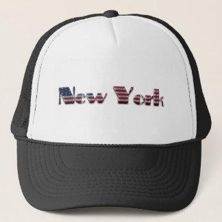 Boné A bandeira americana de New York colore a