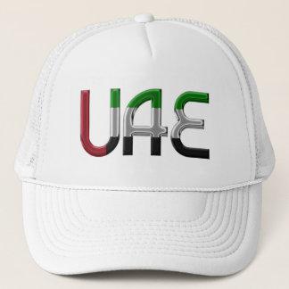 Boné A bandeira dos UAE United Arab Emirates colore a