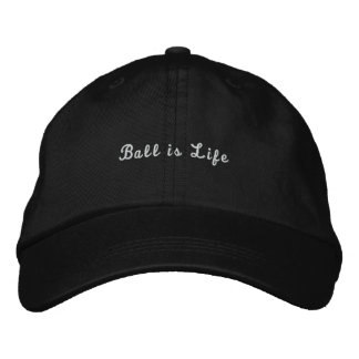 Boné A bola é chapéu da vida