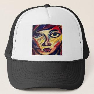 Boné A cara da mulher abstrata