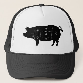 Boné A carne de carne de porco corta presentes da loja
