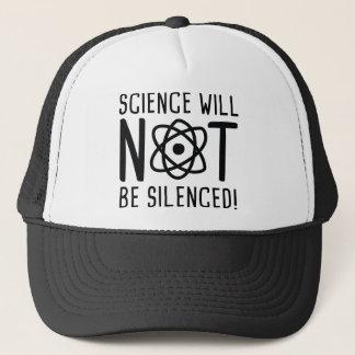 Boné A ciência não será silenciada
