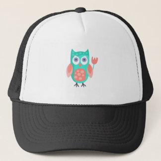 Boné A coruja com partido atribui Funky estilizado