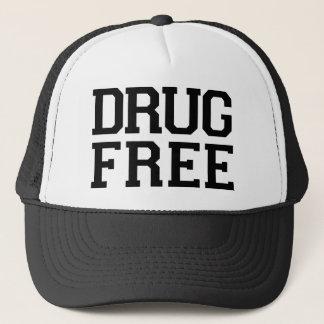 Boné A droga livra o chapéu