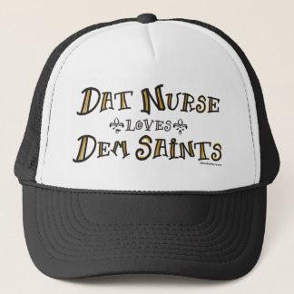 Boné A enfermeira de Dat ama santos do Dem