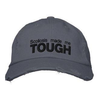 """Boné A """"escoliose fez-me"""" o chapéu bordado resistente"""