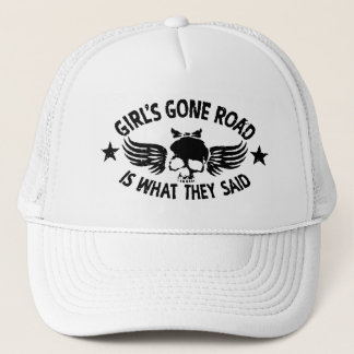 Boné A estrada ida da menina