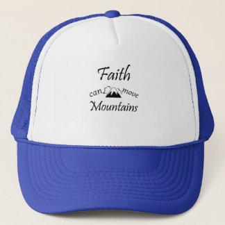 Boné A fé pode mover montanhas