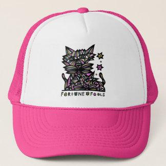 """Boné A """"fortuna engana"""" o chapéu do camionista"""