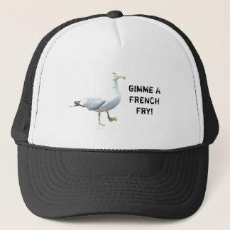 Boné A gaivota diz Gimme uma fritada francesa