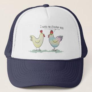 Boné A galinha engraçada era um ovo da páscoa