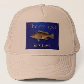 Boné A garoupa é chapéu super da pesca