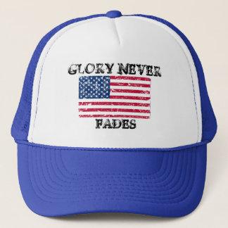 Boné A glória patriótica nunca desvanece-se