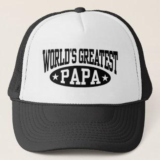 Boné A grande papá do mundo