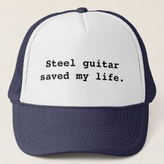 Boné A guitarra de aço salvar minha vida