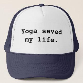 Boné A ioga salvar minha vida