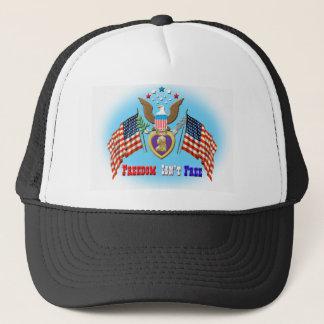 Boné A liberdade não é chapéu livre