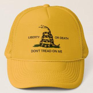 Boné A liberdade ou a morte de Gadsden não pisam em mim