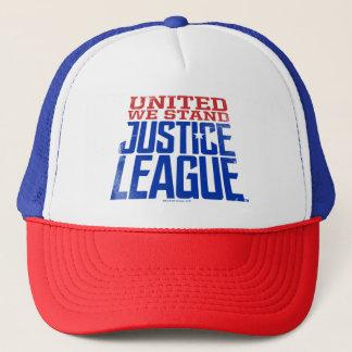 Boné A liga de justiça | uniu-nos está gráfica