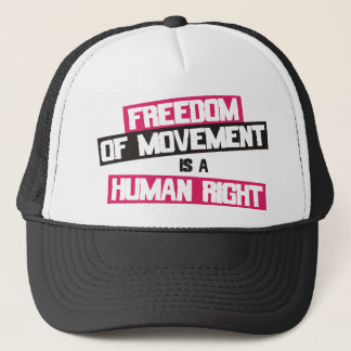 Boné A livre circulação é um direito humano
